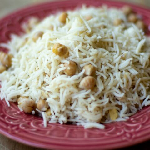 CHICKPEA PILAF (READY IN 30 MINUTES)