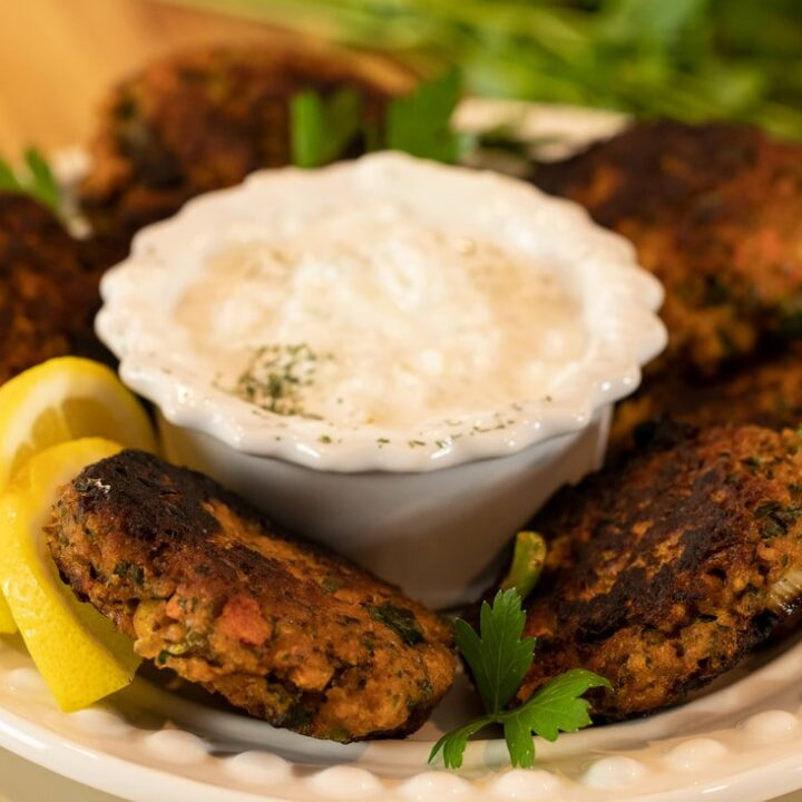 Revithokeftedes: Greek-Style Chickpea Patties