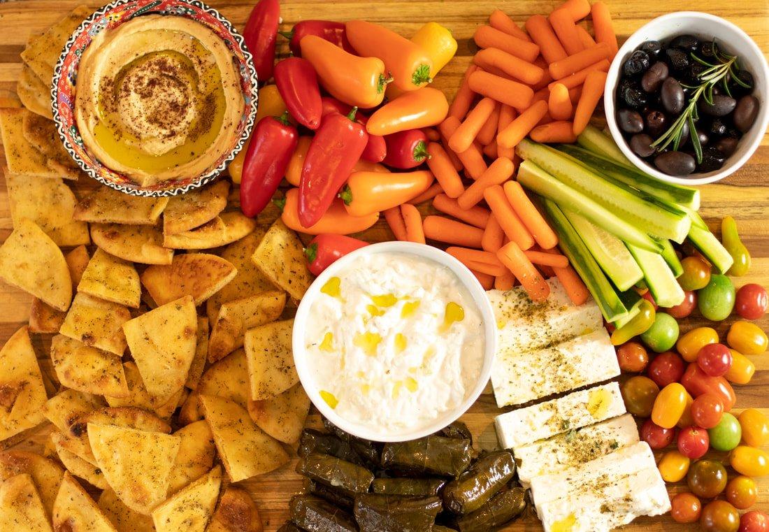 The Ultimate Greek Mezze Board Platter Dimitras Dishes
