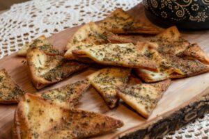 Homemade Greek Pita Chips