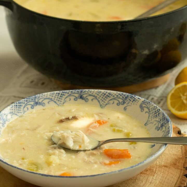PSAROSOUPA: GREEK-STYLE LEMONY FISH SOUP