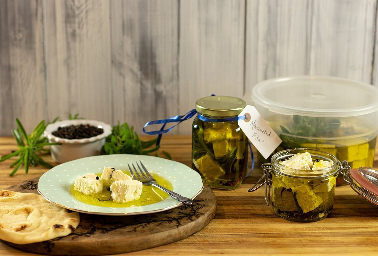 Homemade Marinated Feta Recipe