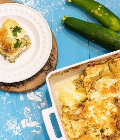 Zucchini Potato Gratin