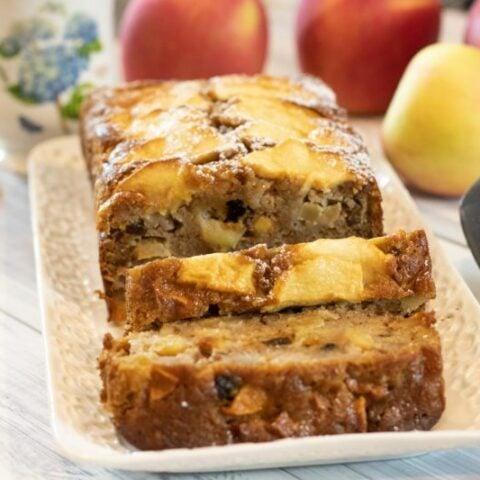 Milopita: Greek-Style Apple Spice Cake & Loaf