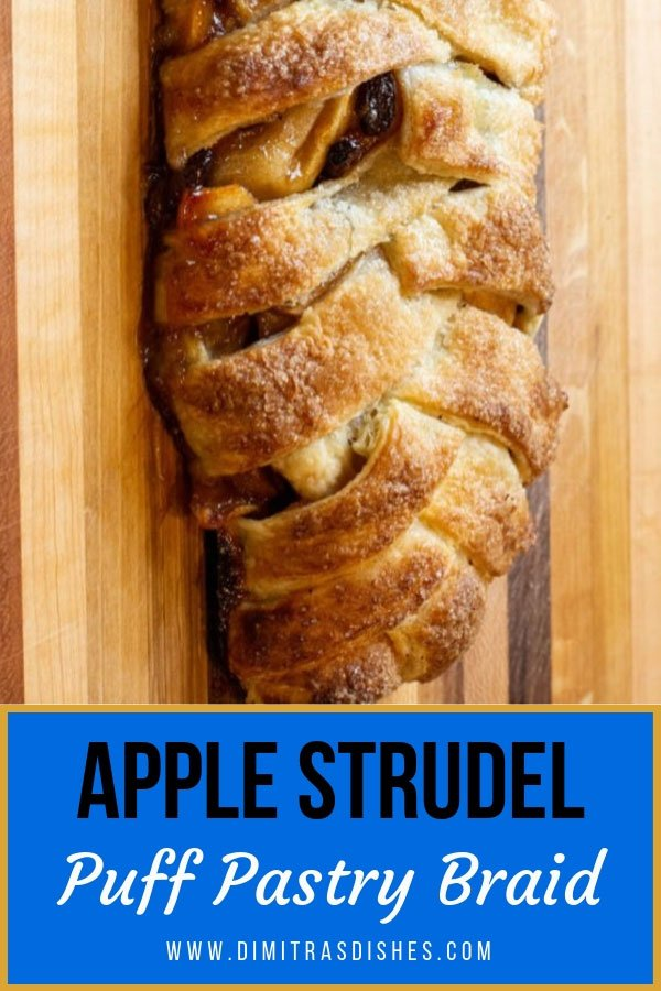 Learn how to make easy apple strudel braid