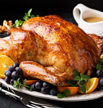 Holiday Roast Turkey With Gravy