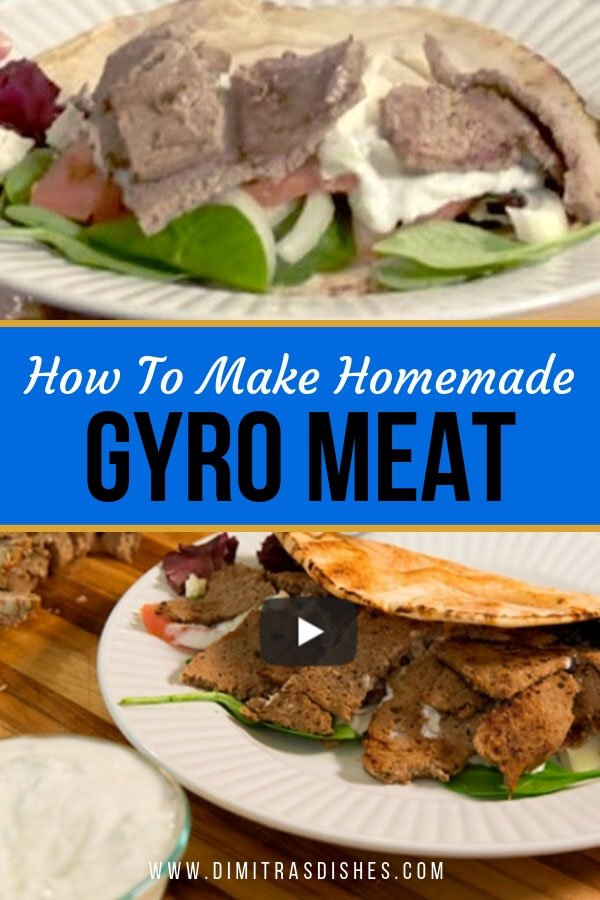Learn how to make delicious homemade gyro lamb meat