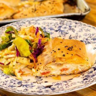 Kotopita Parcels: Greek Chicken & Phyllo Pockets