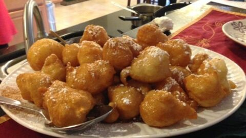 Loukoumades Greek Doughnuts In A Honey Syrup Dimitras Dishes