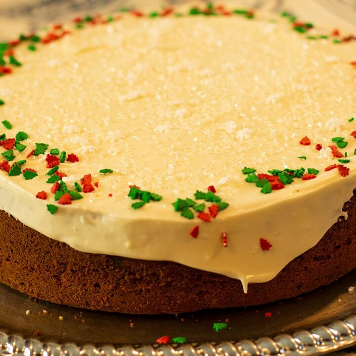 Vasilopita Spiced Cake: Greek New Year's Eve Cake