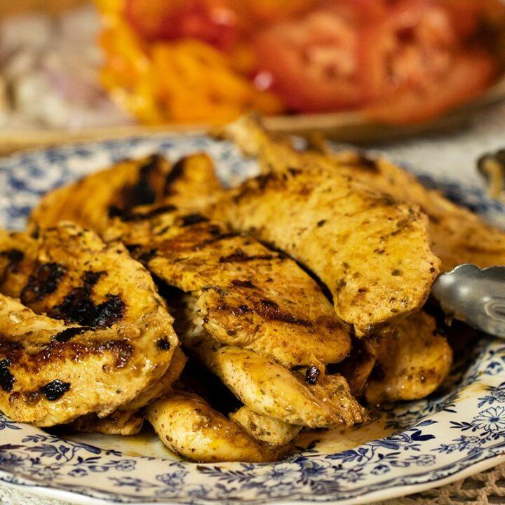 Greek-Style Yogurt Marinated Chicken