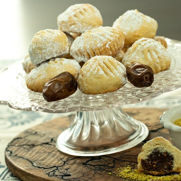 Phoinikota: Cypriot Date and Walnut Filled Cookies