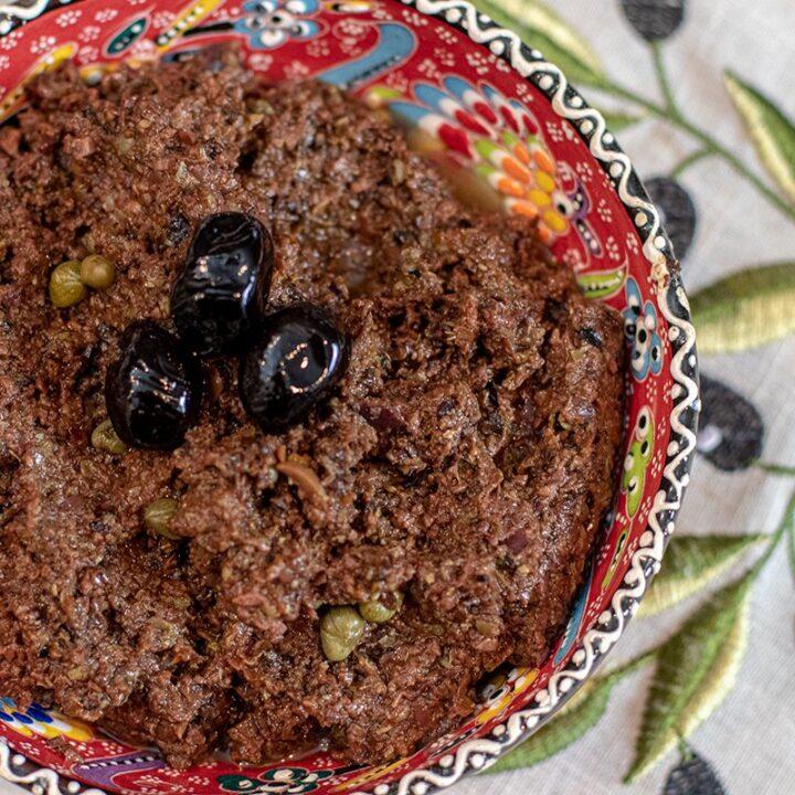 Greek Olive Paste: Πάστα ελιάς