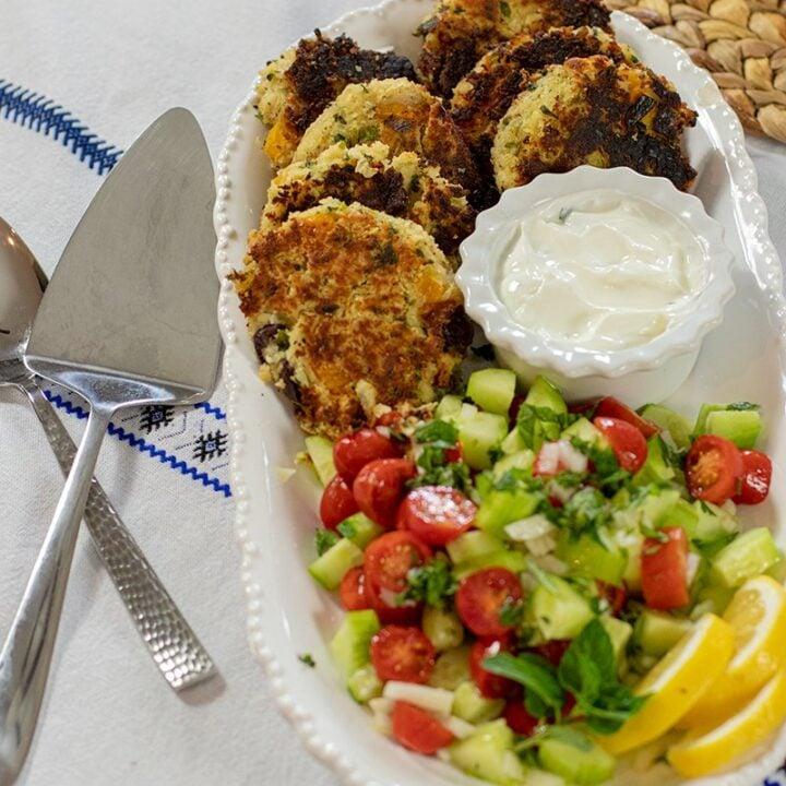 Greek-Style Bean Fritters: Fasoulokeftedes