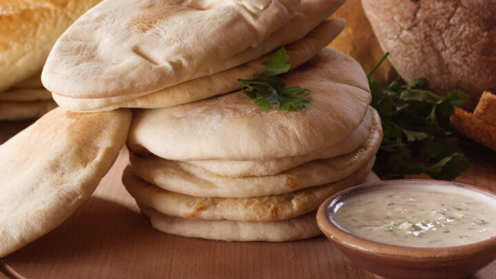 The Softest Pita Pocket Recipe The Oven Method Dimitras Dishes