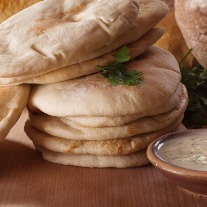 The Softest Pita Pocket Recipe: The Oven Method