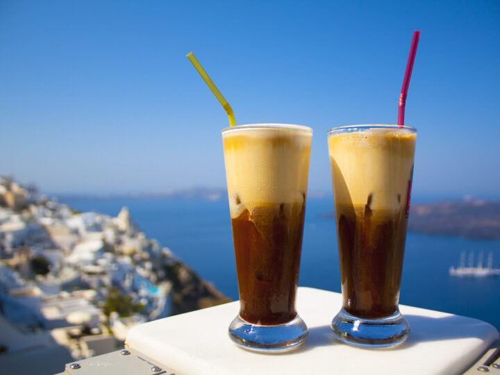 Dalgona Whipped Coffee vs The Greek Frappe - Dimitras Dishes