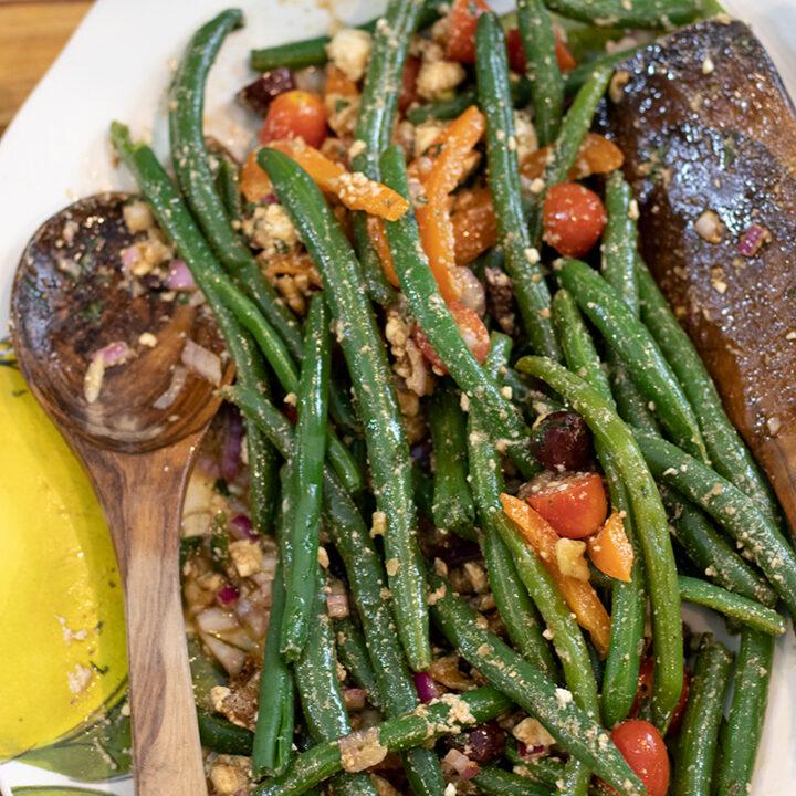 Mediterranean Green Bean Salad
