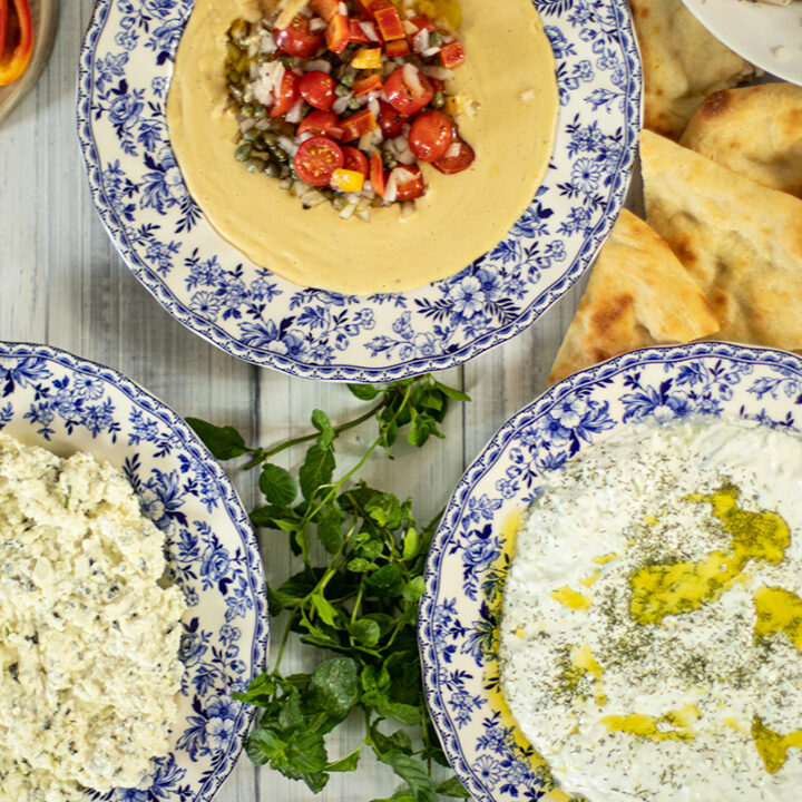 3 Easy & Delicious Greek Dips