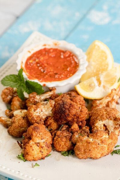 Lebanese Fried Cauliflower