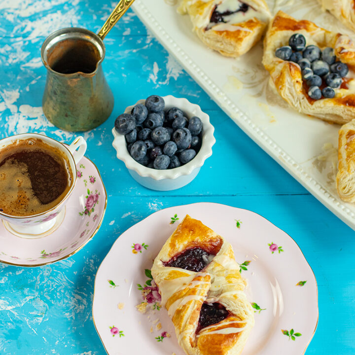 Easy Puff Pastry Danishes