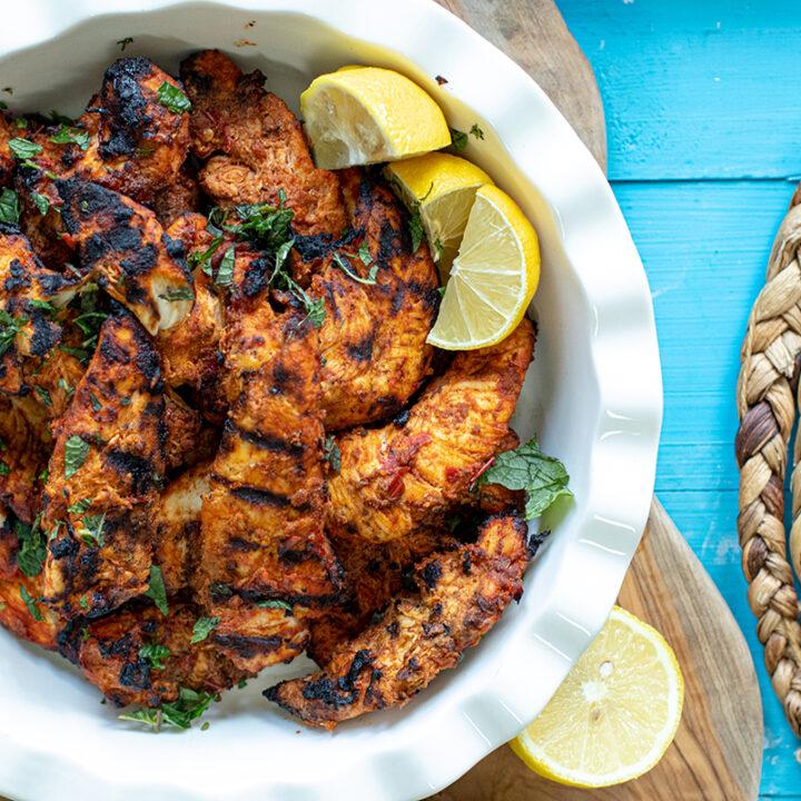 Harissa BBQ Chicken