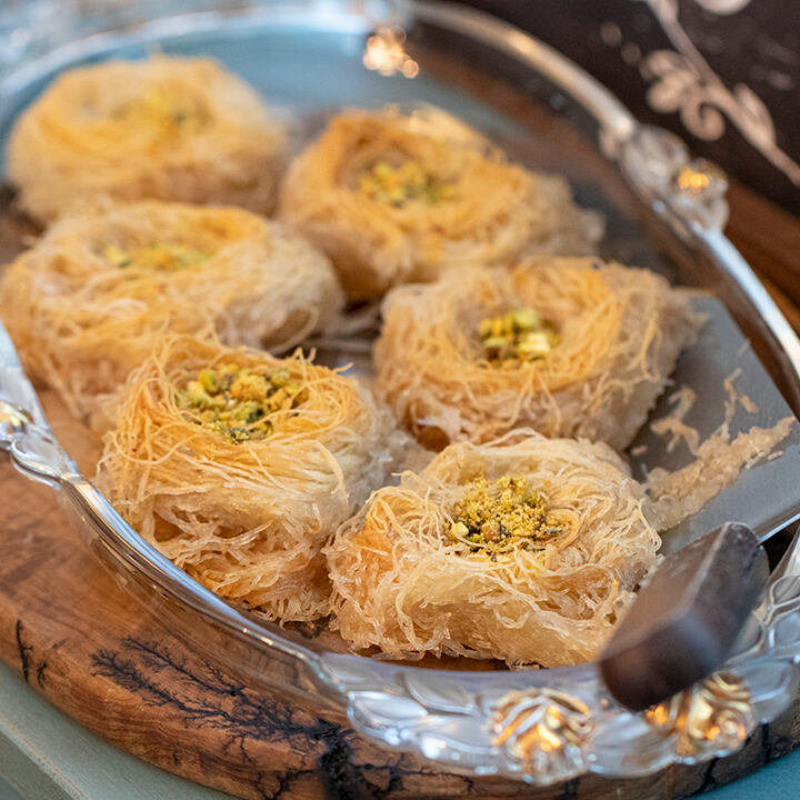Kataifi Nests: The Perfect Greek Make-Ahead Dessert