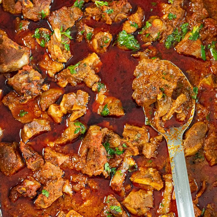 Baked Harissa Lamb Stew