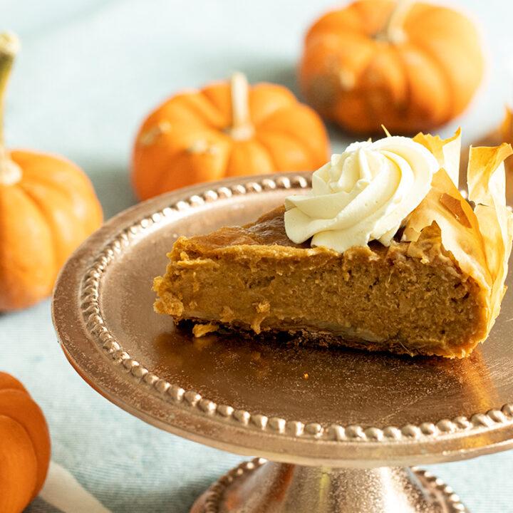 Pumpkin Phyllo Pie