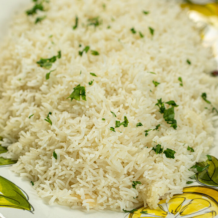 Basmati Rice in the Rice Cooker