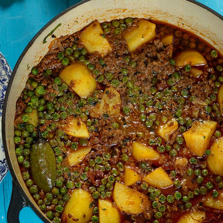 Ground Beef & Potato Stew