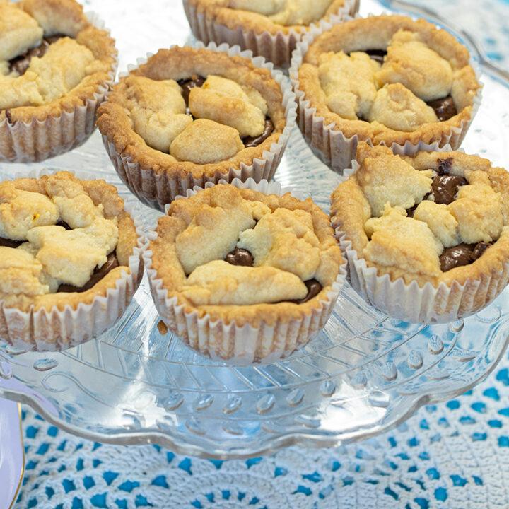 Mini Holiday Pies: Pumpkin & Nutella