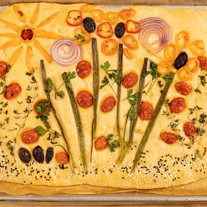 Garden Art Lagana Bread