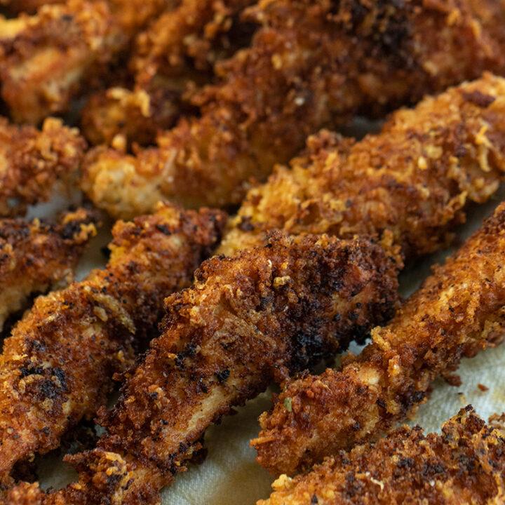 Mediterranean Fried Chicken Cutlets