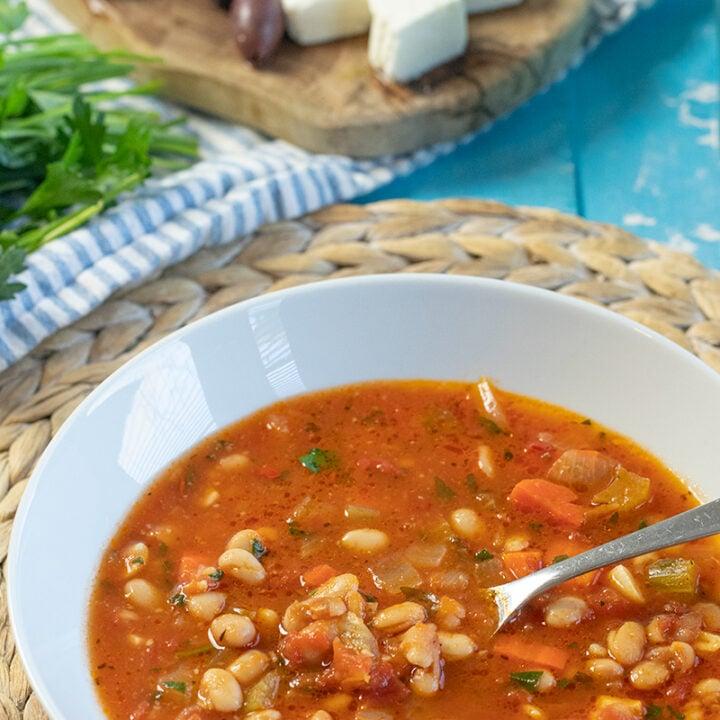 Fasolada in 30 Minutes: Express Greek White Bean Soup