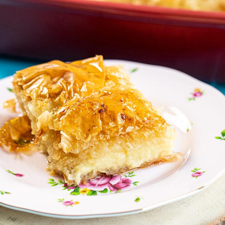 Galaktoboureko: Greek Custard Pie