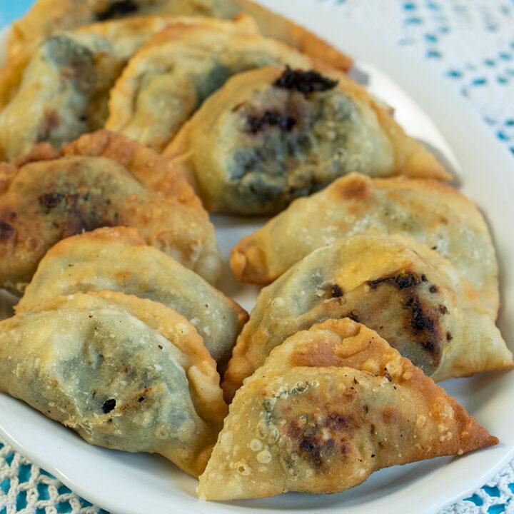 Hortopitakia: Mini Pies from Crete filled with Greens