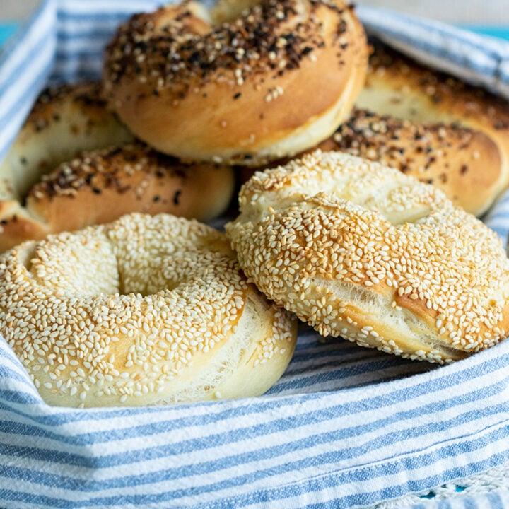 Koulouria Thessaloniki's: Greek Sesame Bread Rings (Bagels)