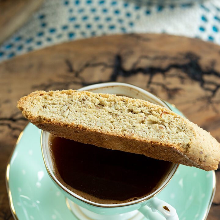 Almond Anise Paximadia (Biscotti)