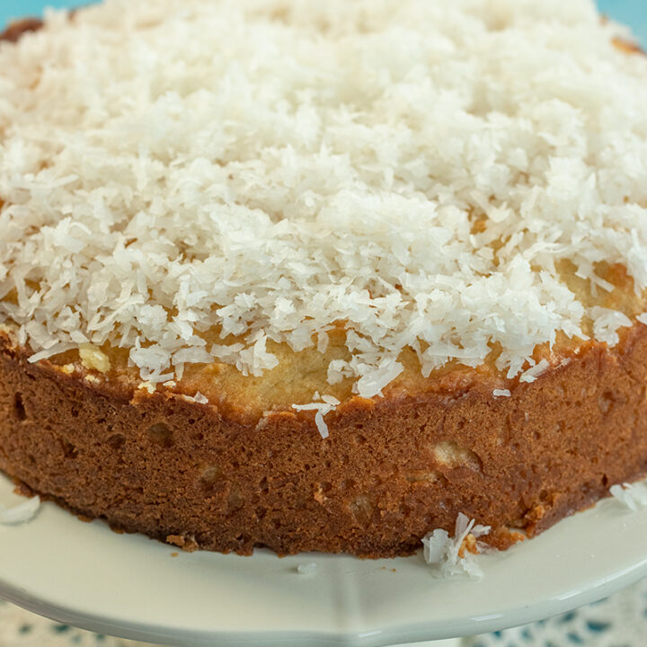Ultra Moist Coconut Cake